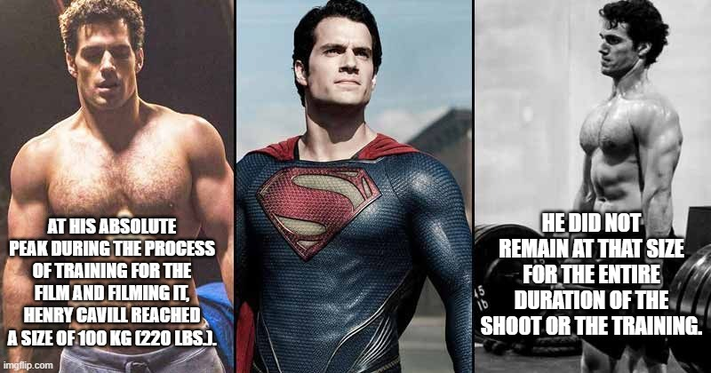 bvs henry cavill workout