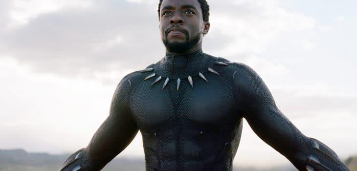 Boseman as Black Panther