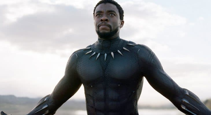Boseman as Black Panther