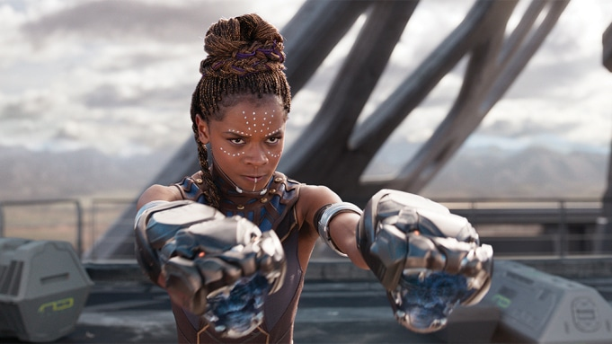 Letitia Wright as Princess Shuri in Black Panther