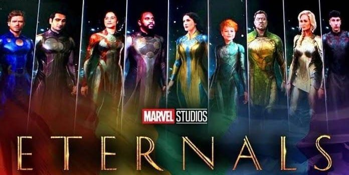 Eternals cast at SDCC