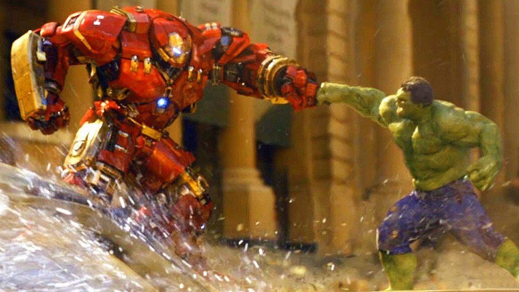hulkbuster age of ultron iron man vs hulk
