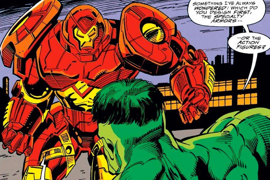 hulkbuster marvel comics first appearance iron man #304