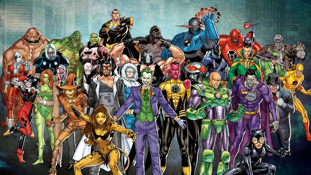 Justice League Villains