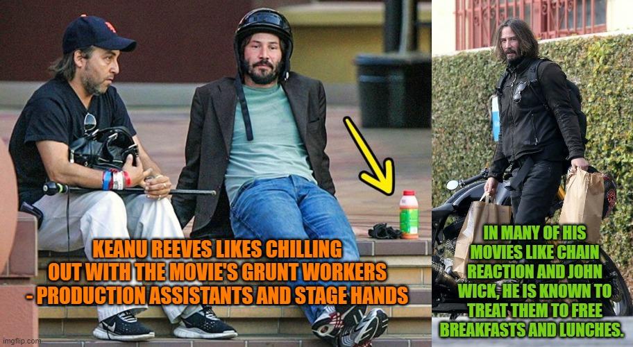 keanu reeves grunt workers