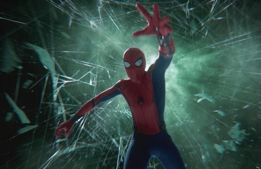 loki vs mysterio spider-man illusion scene far from home