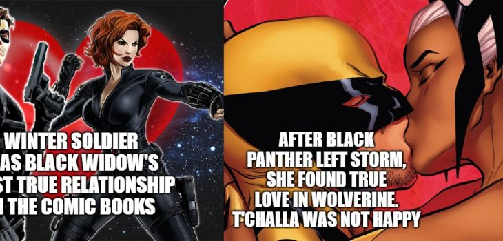 Relationships in Marvel