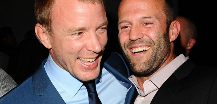 Guy Ritchie and Jason Statham at an event