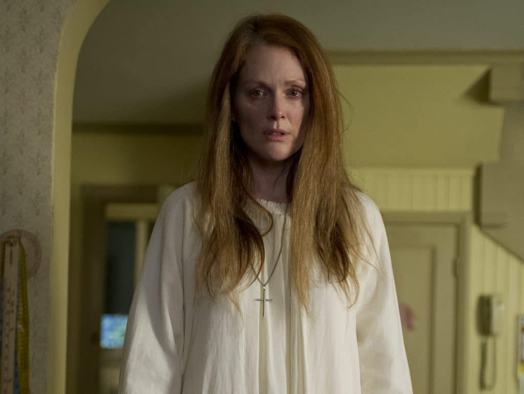 Julianne Moore in stephen King's Carrie adaptation