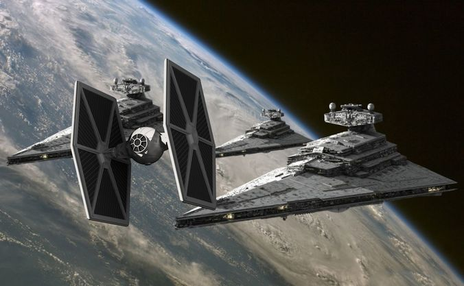 tie fighter redundant systems