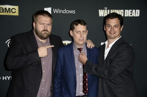 The Walking Dead creators Robert Kirkman and Scott Gimple