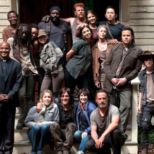The Walking Deas cast