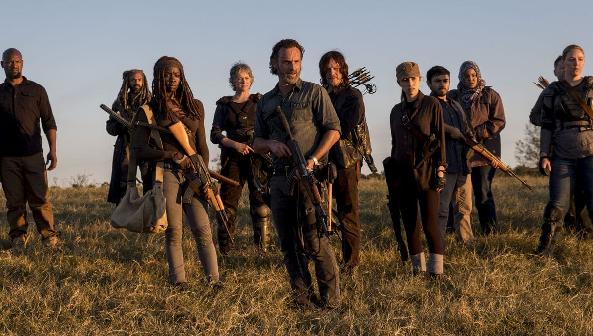 The Walking Dead last season will premier late next year