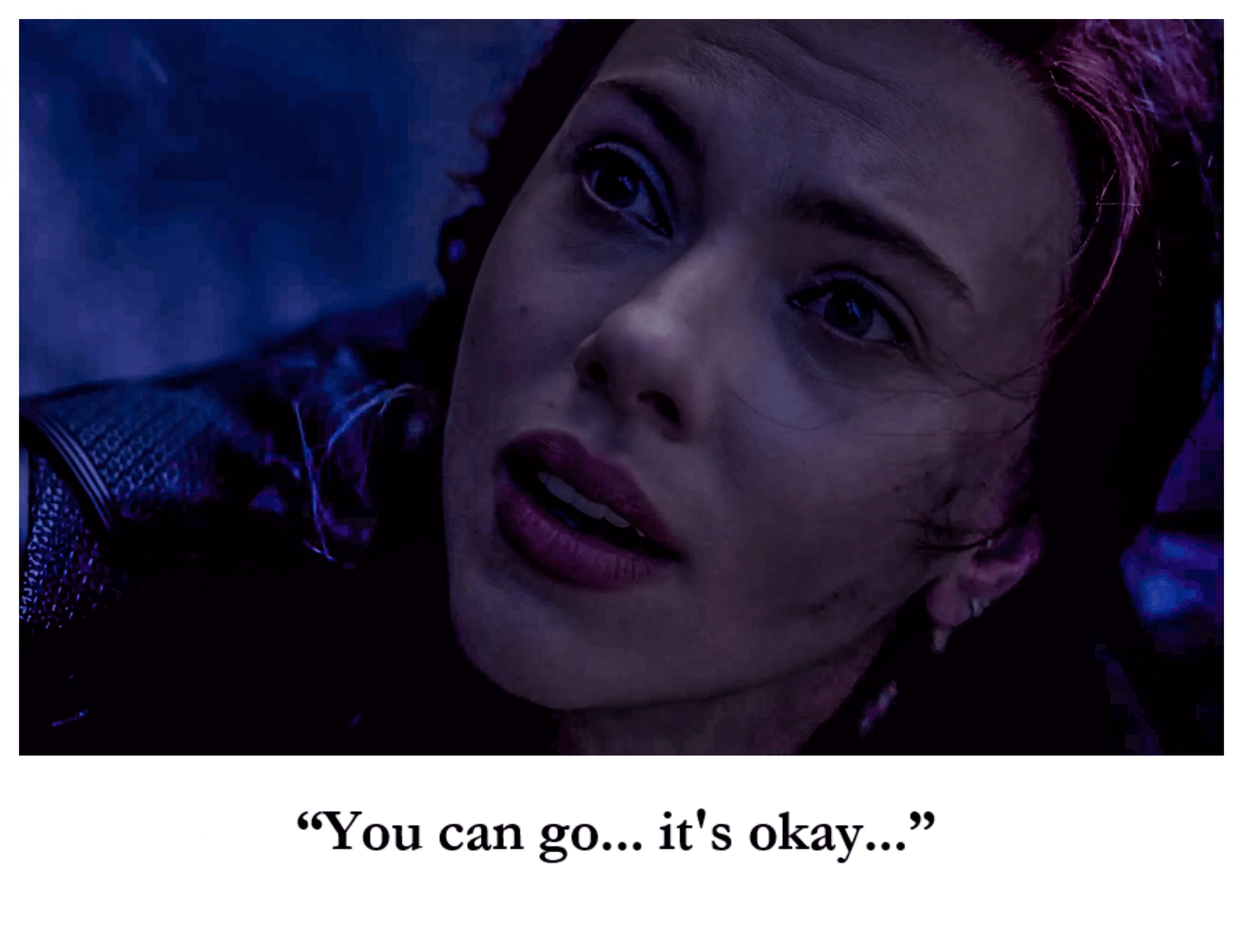 """""""You can go... it's okay.."""""""