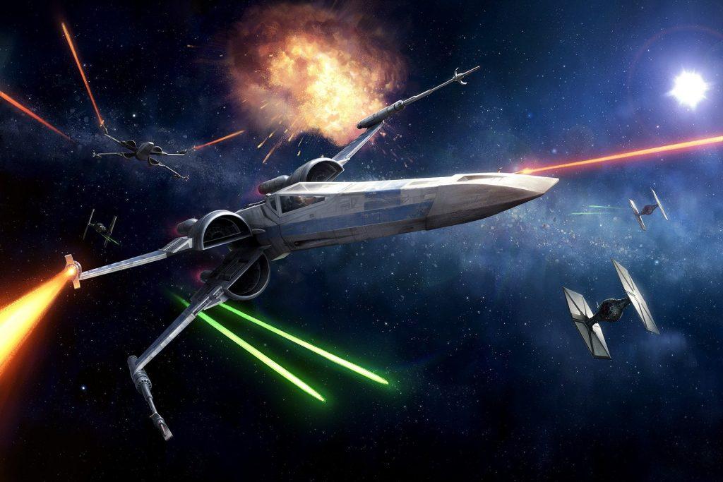 x wing firepower