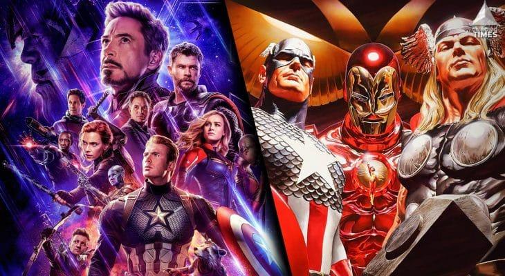 Avengers Now vs Avengers Then