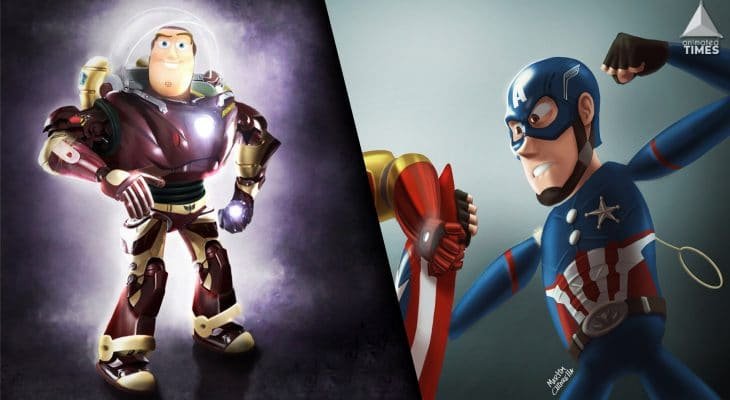 Disney Marvel Character Crossovers