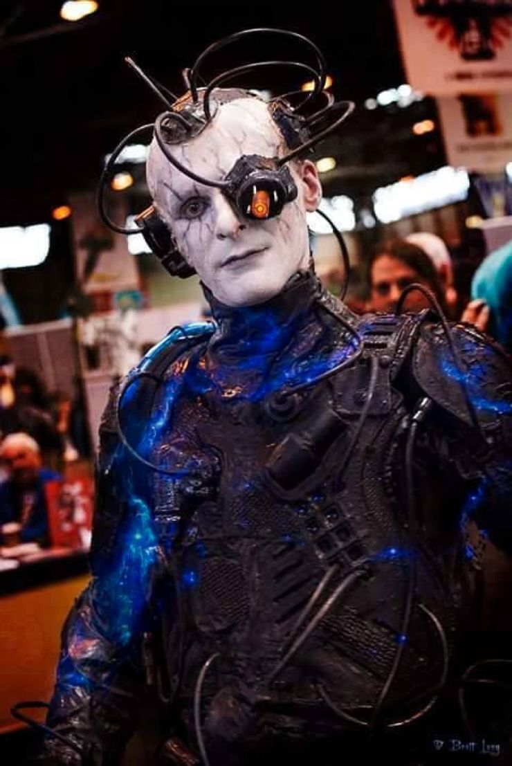 Insanely Accurate Sci-Fi Cosplay Borg