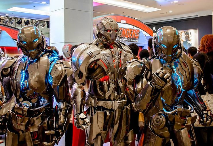 Insanely Accurate Sci-Fi Cosplay Ultron