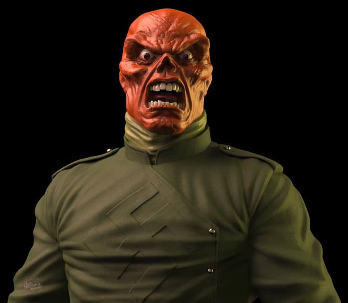 Red Skull as 70s Marvel Character