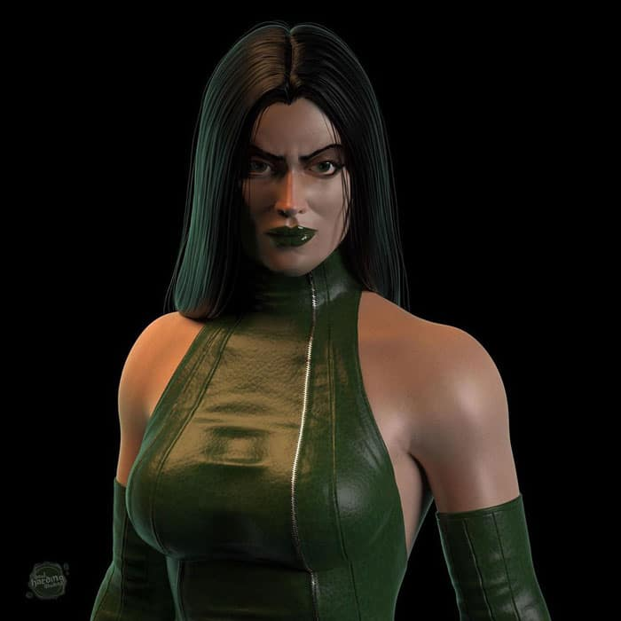 Madame Hydra as Marvel in 70s