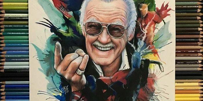 Tribute Artwork Stan Lee