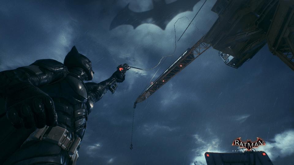 Elevator Batman