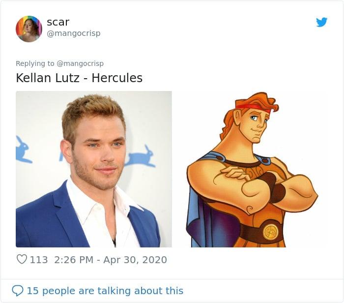 Kellan Lutz and Hercules