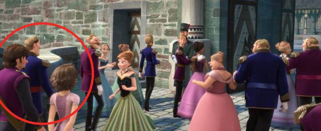Rapunzel and Eugene - Frozen