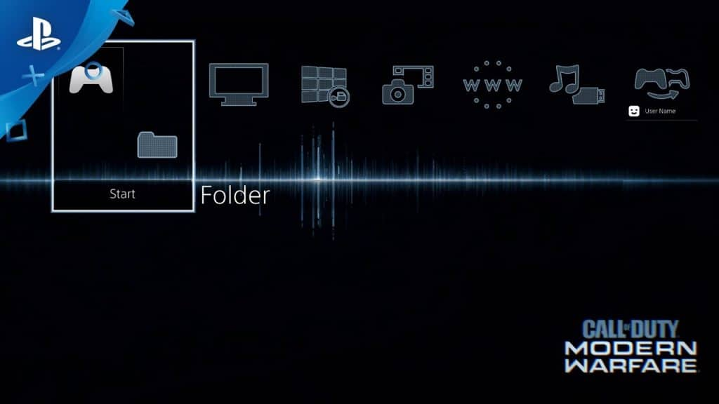 PS4 Feature - Folders and Themes