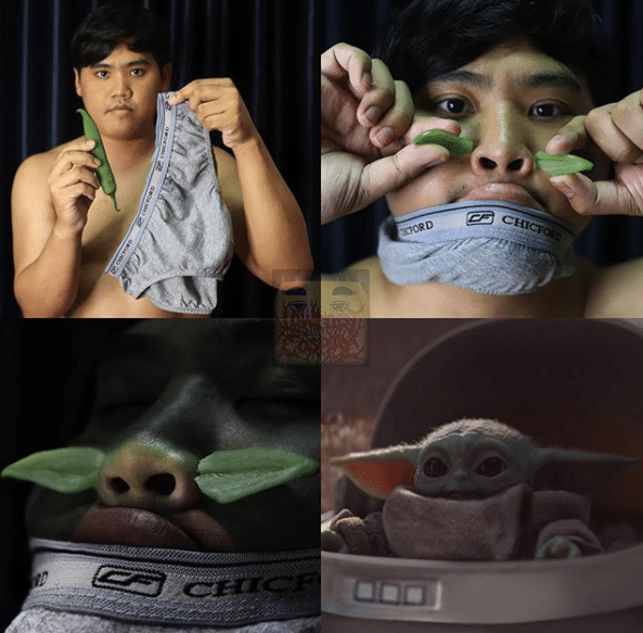Low Cost Cosplay Baby Yoda