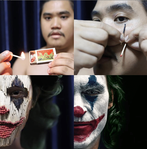 Low Cost Cosplay Joker