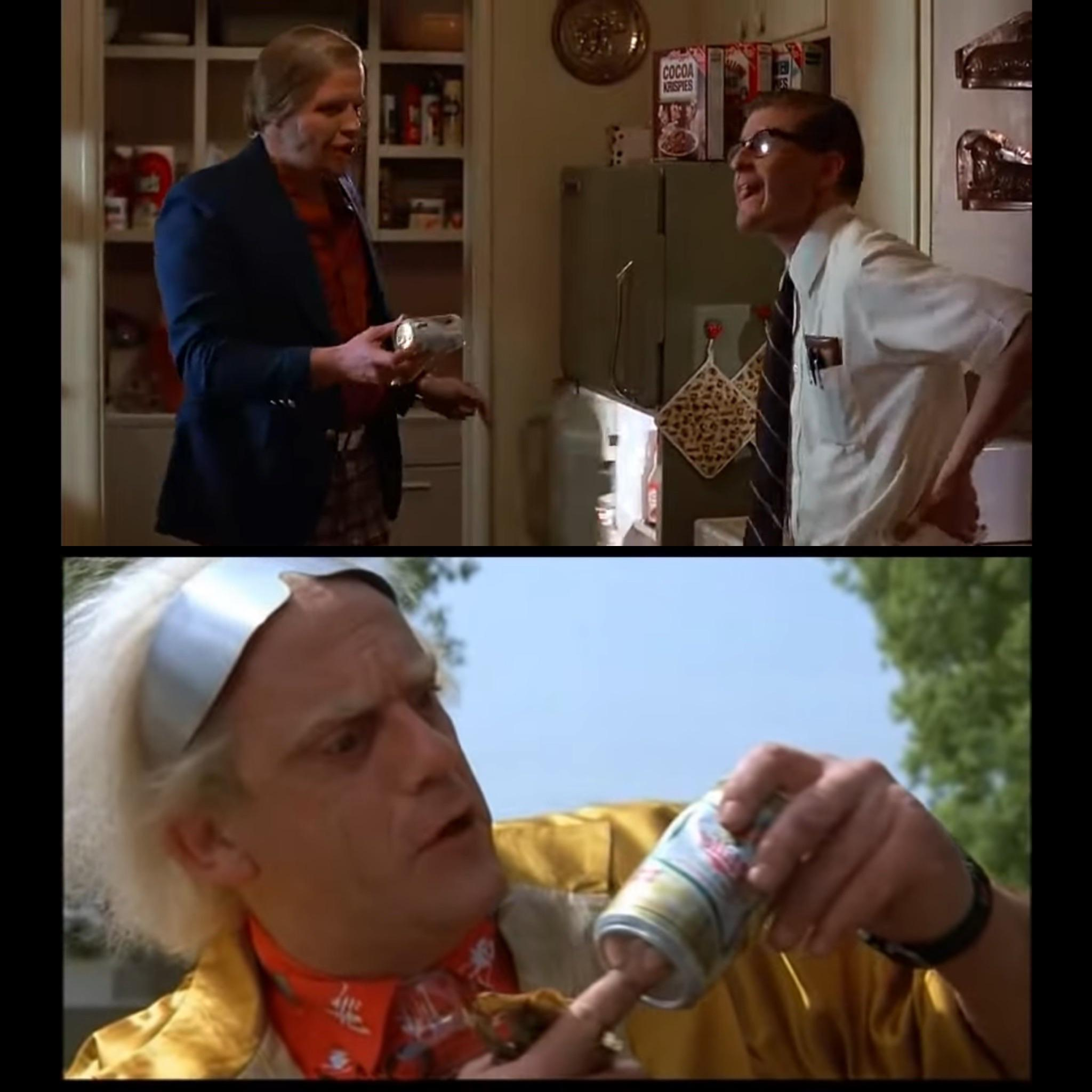 Back to the Future Easter Eggs