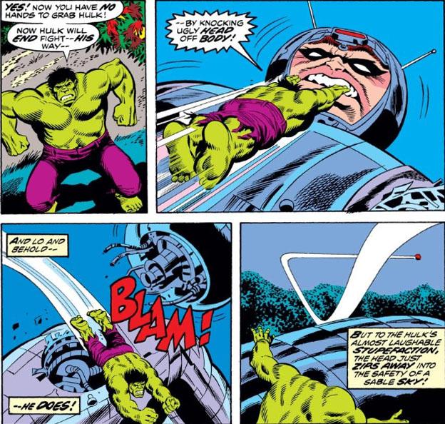 The Hulk vs Adamantium