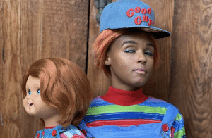 janelle moane as chucky