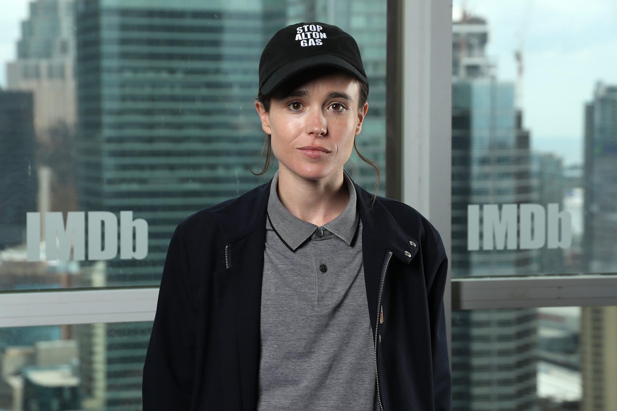 Non-Binary Celebrities Elliot Page