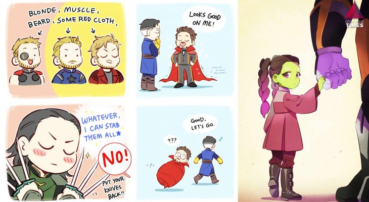 16 Cutest Avengers Comics That Will Improve You Feel After Infinity Wars