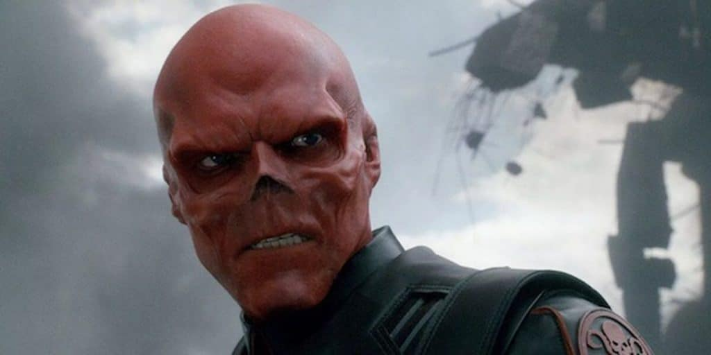 Red skull had differences in opinion with the Marvel