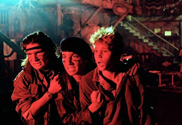Uneven plot of The Lost Boys