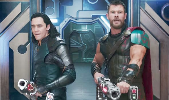 Thor and Loki were step brothers