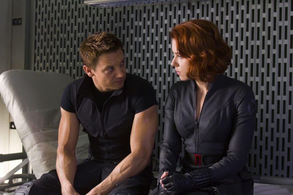 Natasha follows Clint's advice