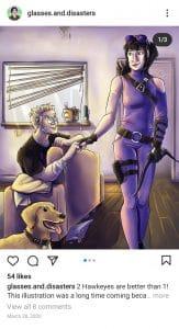 Fanart: Hawkeye(s)
