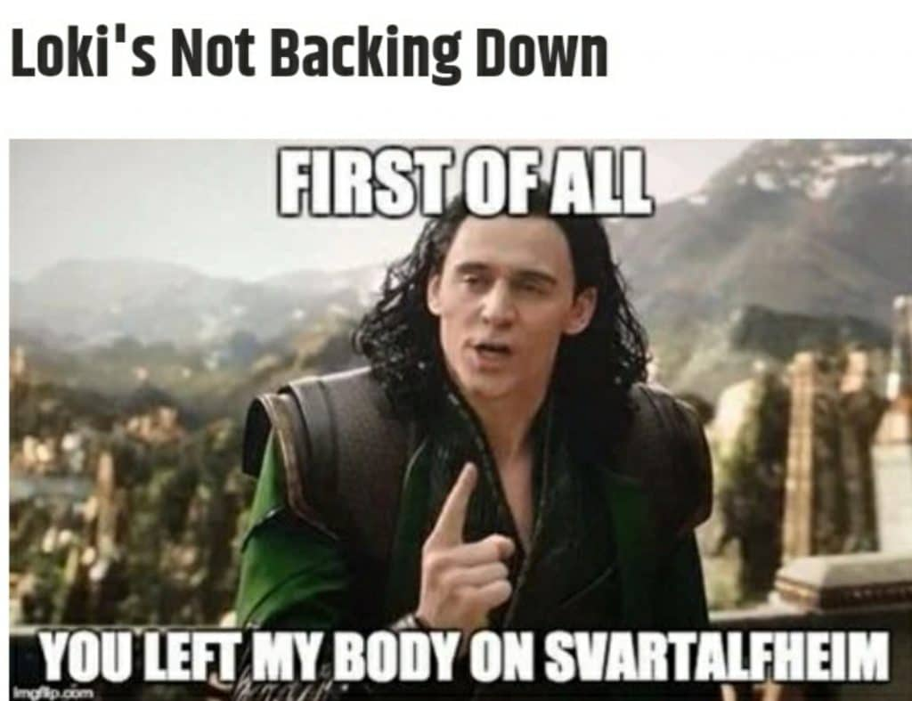Loki being fair