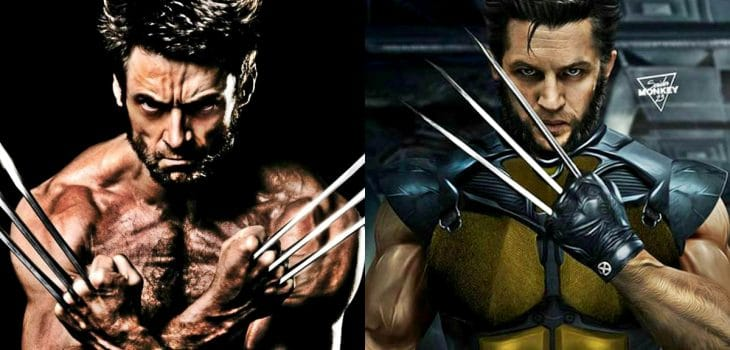 New Fan Art Shows Tom Hardy as MCU's Wolverine
