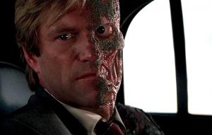 Harvey Dent in The Dark Knight