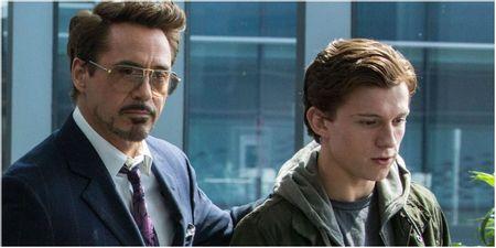 Tony Stark took Peter's suit