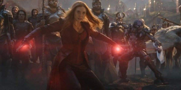 Wanda destroys the Avengers