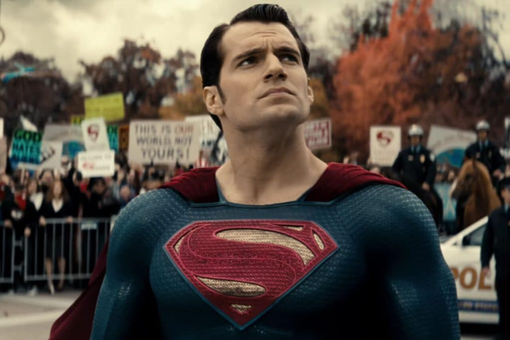 Superman's future seems to be in the air