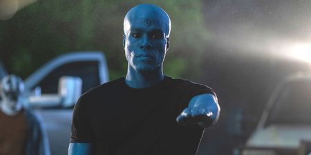 Doctor Manhattan in Watchmen