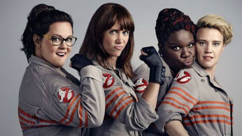 Ghostbusters had an all woman starcast